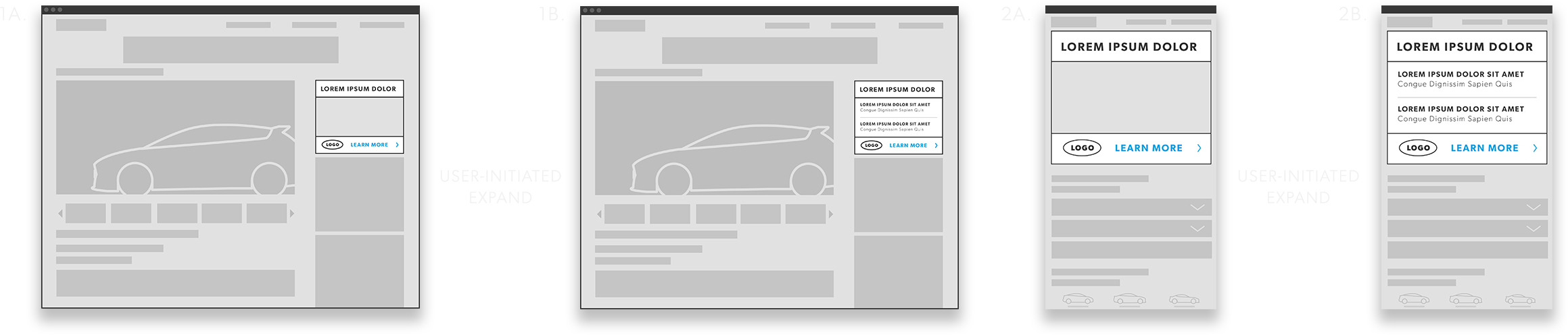 Dealer Locator Wireframe Desktop Graphic